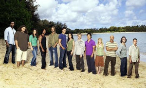 Lost Cast Poster beach #1