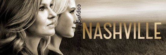 Nashville Poster Scroll Banner 36x14