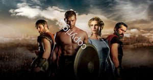Legend Of Hercules Poster Scroll Banner 36x14