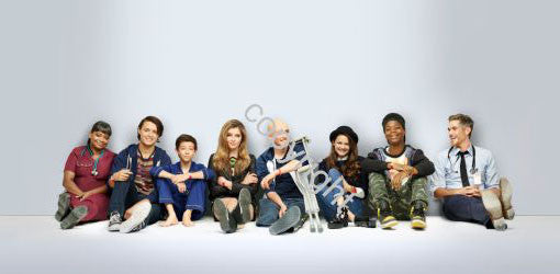 Red Band Society Poster Scroll Banner 36x14