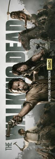 The Walking Dead poster Banner Poster