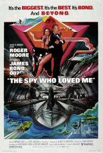 Spy Who Loved Me The Movie Poster James Bond 11x17 Mini Poster