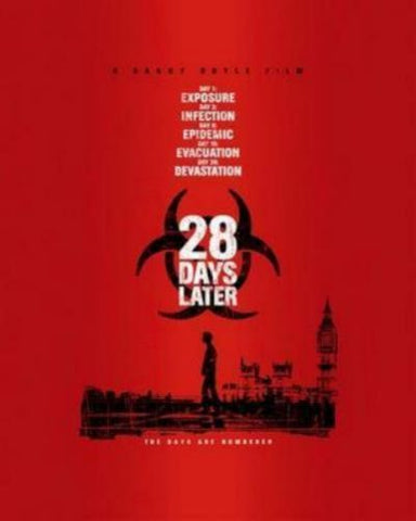 28 Days Later Movie Poster 11x17 Mini Poster
