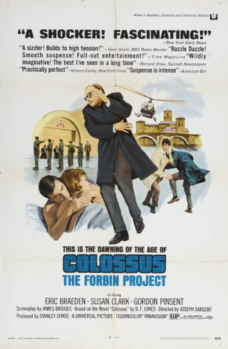 (24inx36in ) Colossus The Forbin Project poster Print