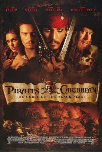 Pirates Of The Caribbean Curse Black Pearl poster 16inx24in Art