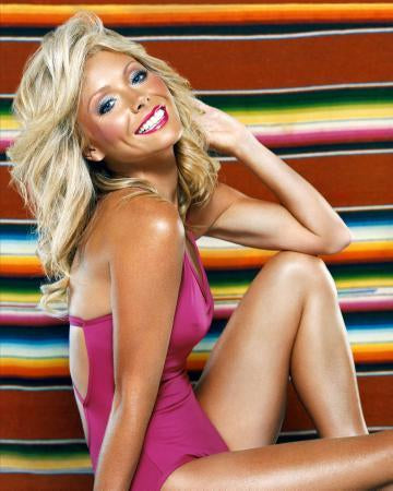Kelly Ripa Pink Swimsuit 24x36 Poster