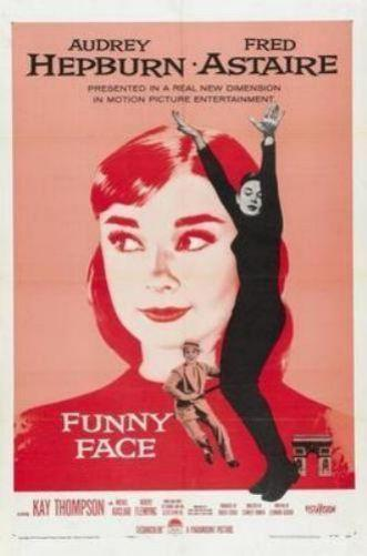 Funny Face poster Audrey Hepburn 16in x24in