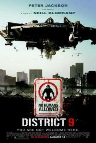 District 9 poster 16in x24in