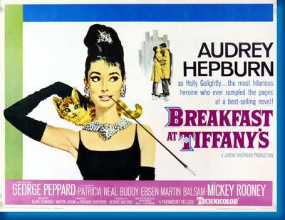 (24inx36in ) Breakfast At Tiffanys poster Print