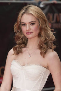 Lily James poster 24inx36in Poster
