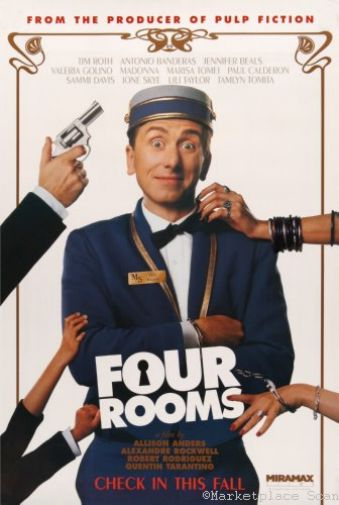 (24inx36in ) Four Rooms poster Print