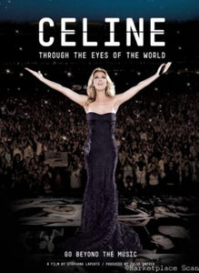 Celine Dion Poster 24x36 Through the eyes of the world Movie