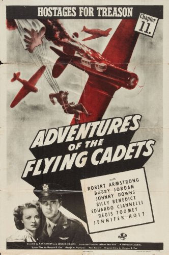 (24inx36in ) Adventures Of The Flying Cadets poster