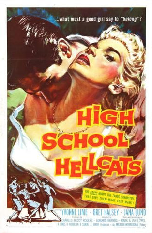 High School Hellcats poster 24in x 36in
