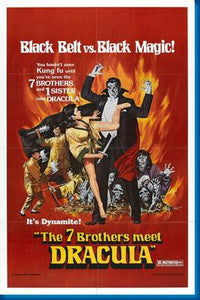 (24inx36in ) 7 Brothers Meet Dracula The poster