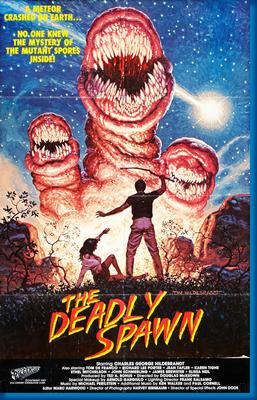 (24inx36in ) Deadly Spawn poster