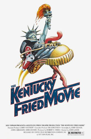 (24inx36in ) Kentucky Fried Movie poster