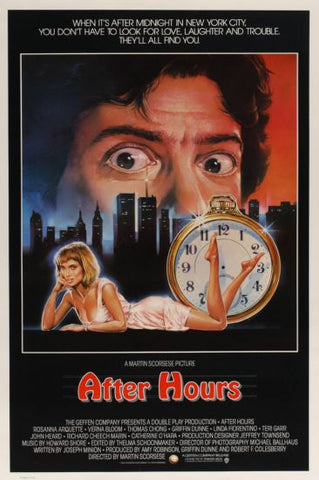 After Hours poster 24inx36in