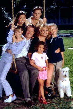 7Th Heaven Poster Family Swing 11x17 Mini Poster