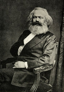 Karl Marx Poster 24inx36in Poster