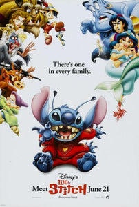 Lilo And Stitch poster 24in x 36in
