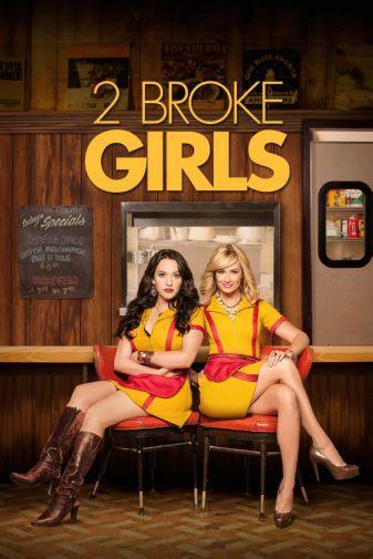 2 Broke Girls Photo Sign 8in x 12in