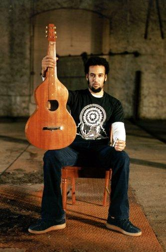 Ben Harper Photo Sign 8in x 12in