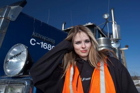 Lisa Kelly Poster ICE ROAD TRUCKERS