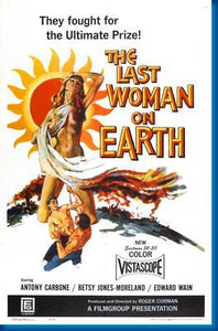 Last Woman On Earth The poster