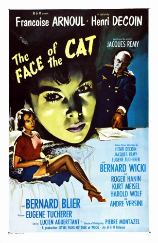 (24inx36in ) Face Of The Cat The poster Print
