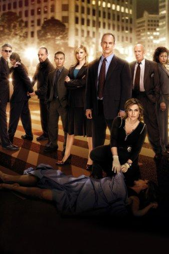 Law And Order Svu TV Poster Cast 24x36