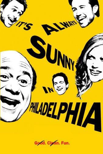 Its Always Sunny In Philadelphia Photo Sign 8in x 12in