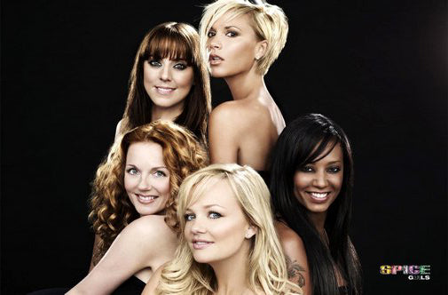 Spice Girls Poster 24inx36in