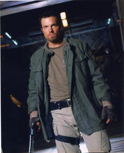 Adam Baldwin Photo Sign 8in x 12in