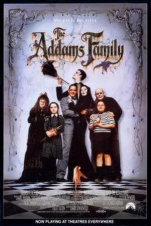 Addams Family Movie Poster 11x17 Mini Poster