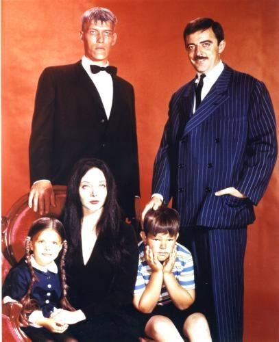 Addams Family, The Photo Sign 8in x 12in