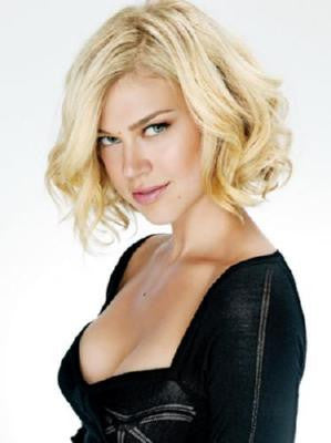 Adrianne Palicki Mini Poster #01 Black Low Cut Top 11inx17in Mini Poster