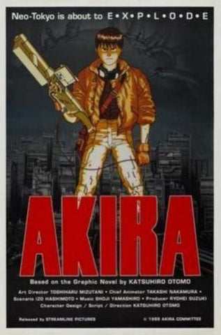 Akira Movie Poster 11x17 Mini Poster