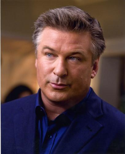 Alec Baldwin Photo Sign 8in x 12in