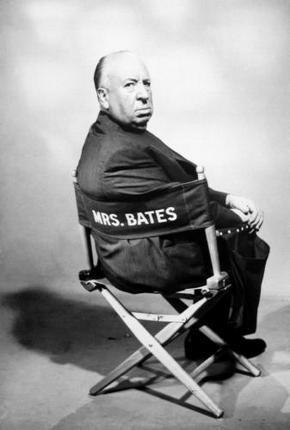 Alfred Hitchcock Poster Director'S Chair 16inx24in