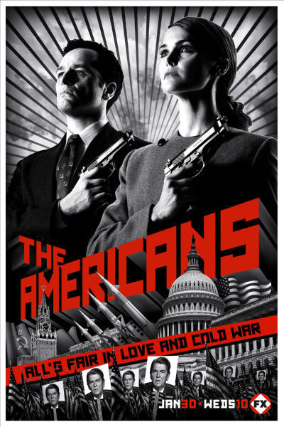 TV Posters, the americans