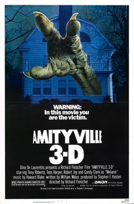 Amityville 3D Movie Poster 11x17 Mini Poster