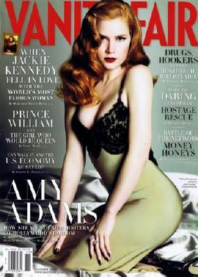 Amy Adams Poster Vanity Fair Magazine Cover 27inx40 in 27inx40in
