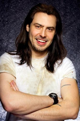 Andrew Wk Photo Sign 8in x 12in