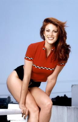 Angie Everhart Photo Sign 8in x 12in