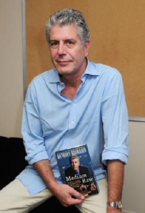 Anthony Bourdain poster tin sign Wall Art
