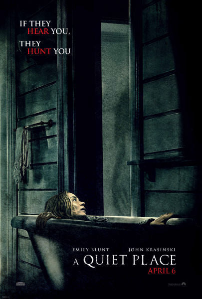 Movie Posters, a quiet place movie
