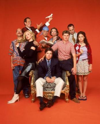 Arrested Development Poster Orange Bg 27inx40in