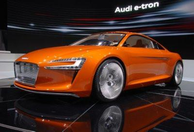 Audi E-Tron Concept poster tin sign Wall Art