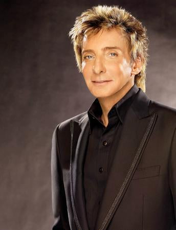 Barry Manilow poster tin sign Wall Art
